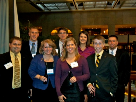 Reunited with my AFA Student Advisory team family.