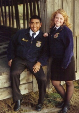 This is Fred, one of my high school best friends and probably the best person I ever met through FFA.