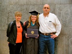 My parents and the reason I've stayed grounded during this adventure. Knowing I made them proud is the best feeling there is.