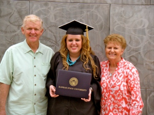 It meant so much to me to share my graduation with my grandparents, whose love and supports never fails to amaze me.