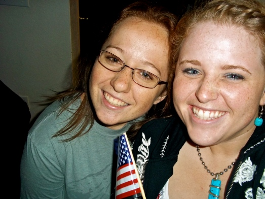 4th of July with roommate Kyla
