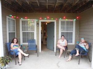 We got new lights for our porch!