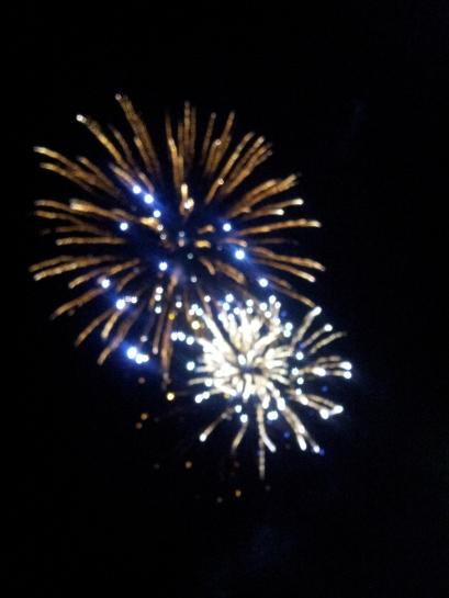 City of Manhattan firework show.