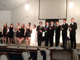 Taking pictures at the Pearce wedding. Such a fun wedding party!