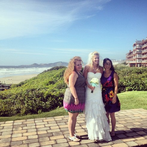 Richole & Dustin's small ceremony on the Oregon coast was PERFECT!