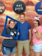 BaconFestKC with Megan and Cameron.