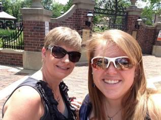 Exploring Wichita with Mom.