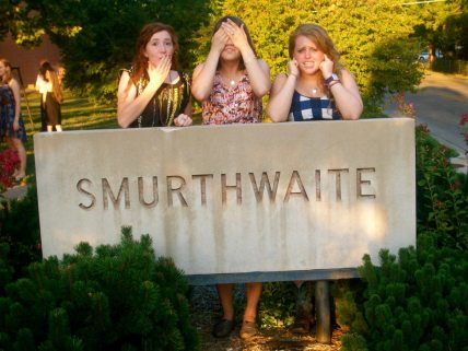 We're seniors...what?