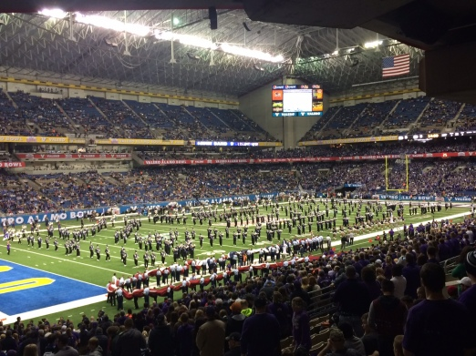 Pretty great officially having the best college marching band in the nation.