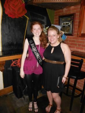 Leah's Bachelorette Weekend.