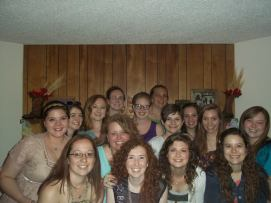 Leah's Bridal Shower Group