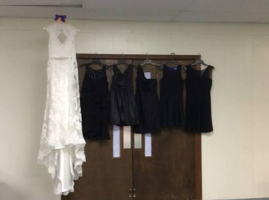 Dresses at Kyla's.