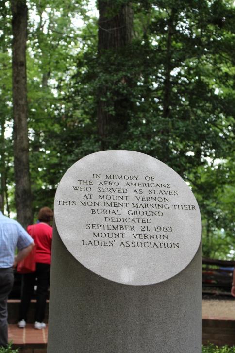 Mt. Vernon - Slave Memorial
