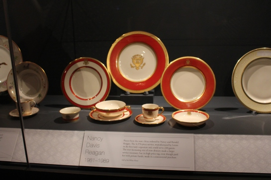 Museum of American History: Nancy Reagan's presidential china