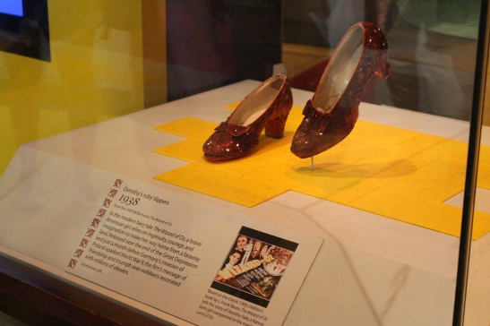 Museum of American History: Dorthey's red slippers