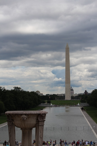 National Mall from the Lincoln Memorial
