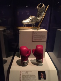 Museum of American History: Muhammed Ali's gloves and Apollo Ono's skates