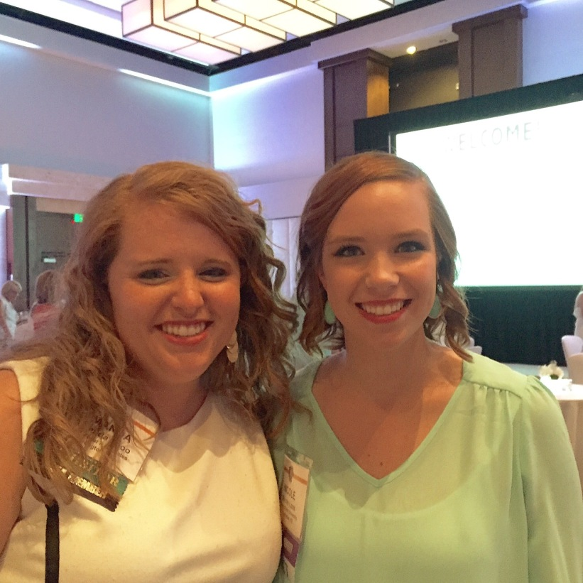 So proud of this fellow Eastern Oregon/K-State ACJ girl. She walked away as the 2015 Forest Bassford recipient, which is the highest award given to a student in Ag communications. Congrats Nicole!