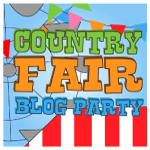 country fair button