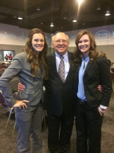 My sister Jessica and I, with AFA President Russ Weathers.