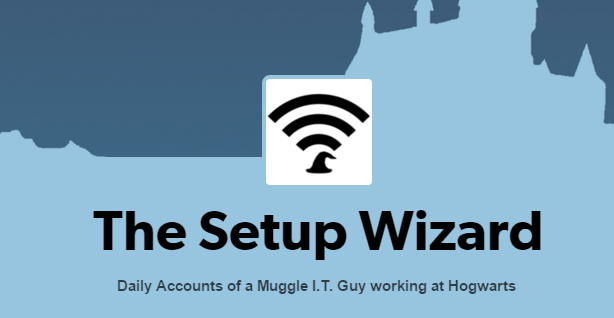 the setup wizard