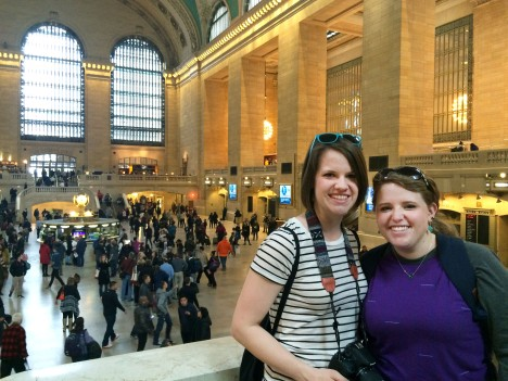 A and M at Grand Central - EDITED