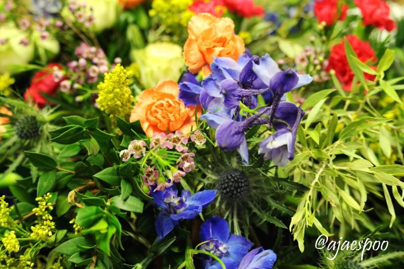 flowers with namemark