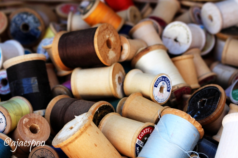 spools with namemark
