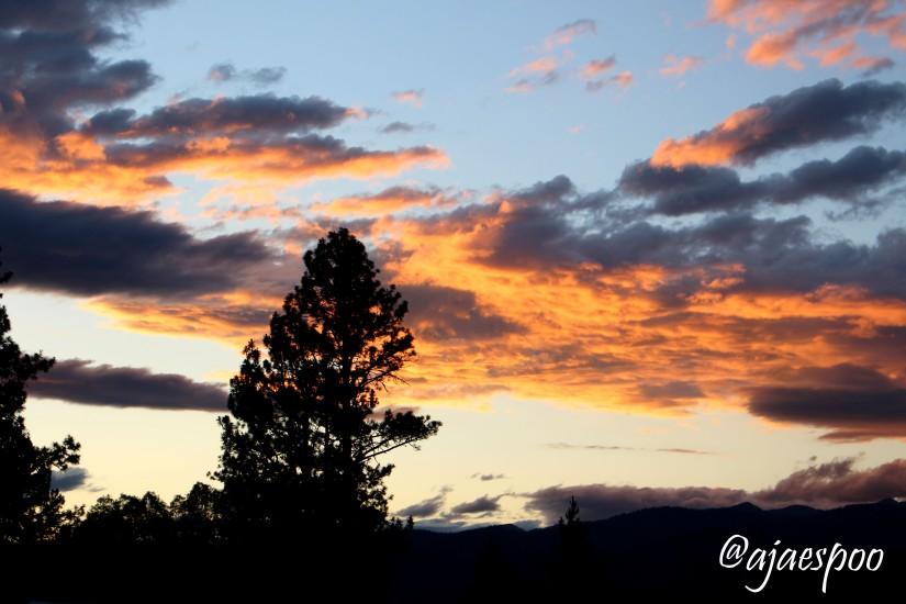 sunset with namemark 1