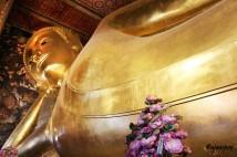 reclining budha with namemark