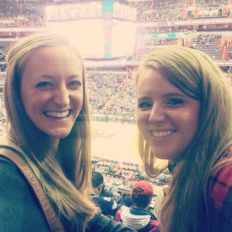 Blazers vs. Wizards with Elizabeth