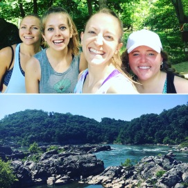 Hiking at Great Falls