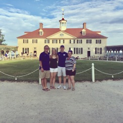 Fireworks at Mount Vernon