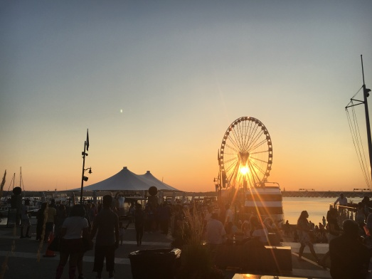 Day trip to National Harbor with Sam