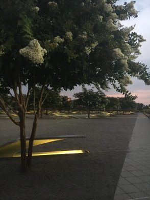 Visiting the 9/11 Pentagon Memorial for the first time