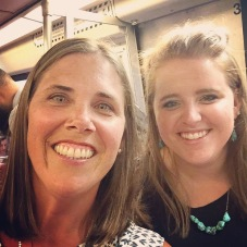 Beth, ag teacher-turned friend in town with students for FFA's Washington Leadership Conference