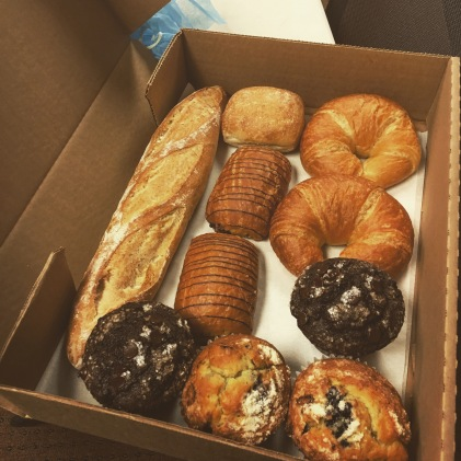 Work field trip to a local bakery