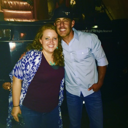 Meeting Aaron Watson after his concert