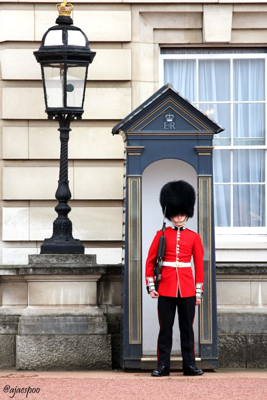 APR18 - London - Buckingham Palace (9) NAMEMARK