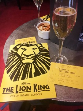APR18 - London Trip - The Lion King (4)