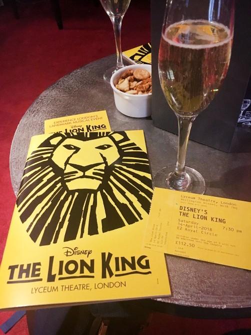 APR18 - London Trip - The Lion King (4)