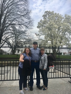 MAR18 - Mom and Dad visit DC - White House (3)
