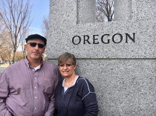 MAR18 - Mom and Dad visit DC - WWII Memorial (2)